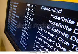 Aberdeen Airport Information Desk Flight Information Board In Airport Stock Photos U0026 Flight
