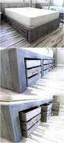 Platform Bed With Storage Drawers Diy by Platform Bed With Storage Tutorial Diy Platform Bed Platform