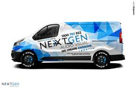 renault minivan renault trafic van wrap design by essellegi wrap design
