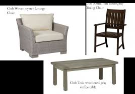 High End Wicker Patio Furniture - mix it up curating patio furniture for an eclectic outdoor room