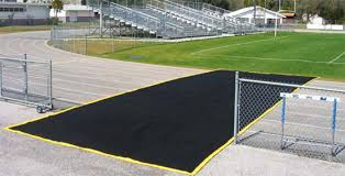 Field Bench 15 Feet X 30 Feet 2nd Generation Track Protector Geo And Vipol