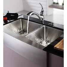 Kitchen Sink Basin by Kraus Khf203 36 Professional Stainless Steel Apron Front Double