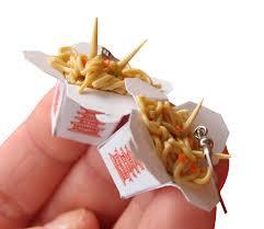 food earrings diy jewelry shaped like tiny foods