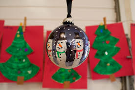 mrs ricca s kindergarten snowman handprint ornaments