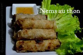 cuisiner des nems nems au thon petits plats entre amis