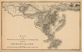 Map To New Orleans by File Map Pontchratrain Basin Isle Of Orleans 1880 Jpg Wikimedia