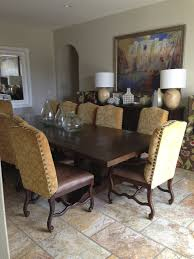 buy tuscan estates dining room set by hekman from tuscan style