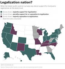 Marijuana Legalization Map Where Will Pot Be Legalized U2013 Wonk Wire
