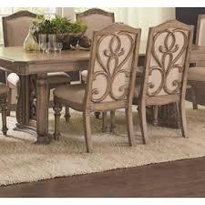 traditional dining room sets coaster ilana formal oatmeal traditional dining room table 5pcs set