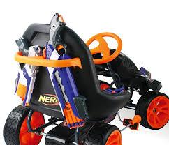 nerf car shooter nerf battle racer puts the foam beatdown on wheels technabob
