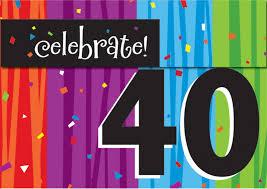 free printable 40th birthday invitations cards best free
