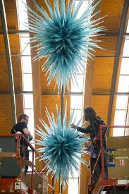 Chihuly Glass Chandelier Public To Pick Chihuly Piece To Become Permanent Fixture At