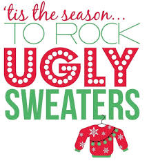 ugly christmas sweater party invitations plumegiant com