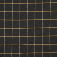 Black And White Check Upholstery Fabric Black White Large Scale Plaid Upholstery Fabric 54 Inch