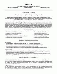 Experienced Resume Samples 100 Example Resume Professional Experience Sample Summary