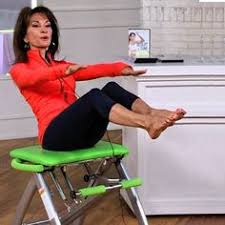 Pilates Chair Exercises Pilates Chair Workout Video Detailed Instructor On How To Adjust