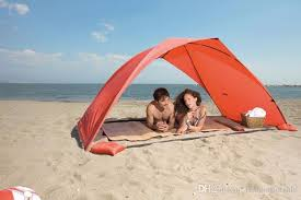 Camping Tent Awning Summer Beach Tent Sun Proof Suv 2 Man Tent Simple Outdoor Camping