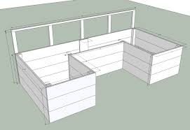 Free Plans For Garden Furniture by Ana White Dynamic Raised Garden Bed Plans Diy Projects