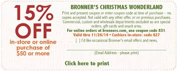 bronner s ornaments coupon codes free here