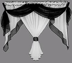 tende con drappeggio tenda voile tenda con drappeggio a mantovana tenda con bordo