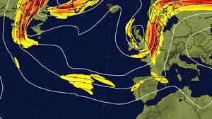 Jetstream Map Alert Weather Hazzard Europe U0026 Maghrib Jetstream Forecast