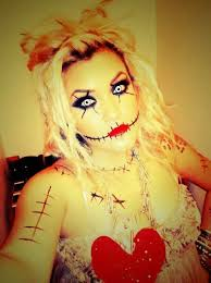 Scary Doll Halloween Costume 25 Voodoo Doll Makeup Ideas Scary Doll