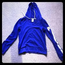 42 off pink victoria u0027s secret tops vs pink hoodie nwot royal