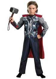 Light Halloween Costumes by Child Avengers Thor Light Up Costume Halloween Costumes