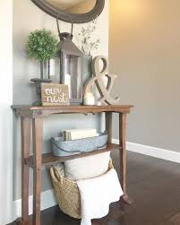 Foyer Table Decor Popular Of Hallway Table Decor With 25 Best Table Decor Ideas
