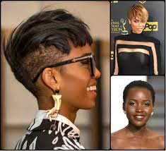 2017 black short hairstyle