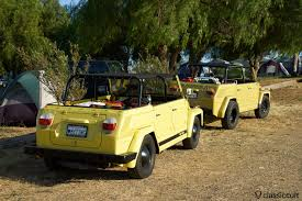 volkswagen thing yellow el prado vw show chino california 2017 classiccult