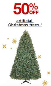 target 50 off christmas trees free shipping