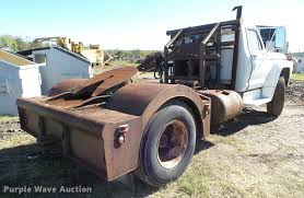 Ford F700 Hood And Fenders - 1976 ford f700 winch truck item da5149 sold december 29