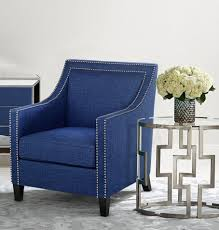 navy accent chair modern accent chairs pinterest