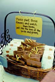 seed packet wedding favors basket of promise see more seed packet wedding favors and
