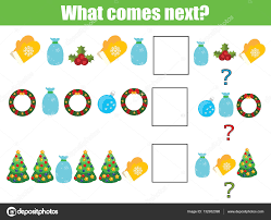 what comes next educational children activity sheet