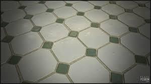 wet bathroom floor tiles