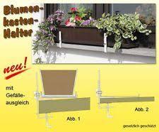 balkon blumenkasten mit halterung pflanzgefäß halterungen ebay