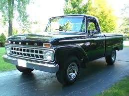 Nicest Truck Interior Sold U003e1965 Ford Custom Pick Up Restored 351 V8 Automatic