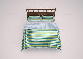 Free Bed Sets Bed Linen Bedding Sets Mockup By Goner13 Graphicriver