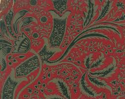 Hand Printed Wallpaper by Friday Gem From The Stoddard U2013 Templeton Design Archive Sanderson