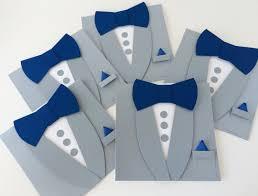 Photo Cards Invitations Gray Groomsman Invitations Tuxedo Bow Tie Card Will You Be