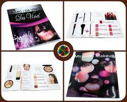 revista de moda panfleto de publicidade produtos cosméticos