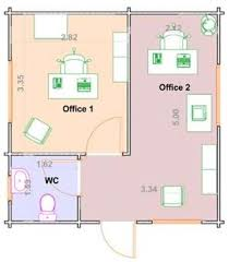 office design plan log office design which design should you go for