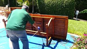 Teak Garden Table Cleaning Teak Outdoor Furniture Youtube