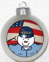 united states coast guard christmas ornament by baitser on etsy