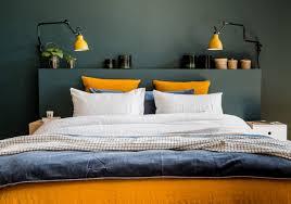 model chambre une chambre bleue au linge de lit dépareille l agence déco