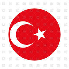Flag Circle Turkey Circle Flag Royalty Free Vector Clip Art Image 168761