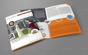 real estate services bi fold brochure template by owpictures