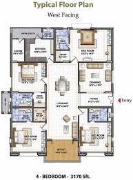 Residential House Plans In Bangalore House Plan For 1000 Sq Ft West Facing